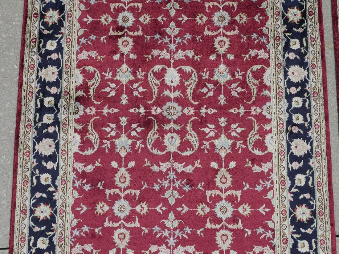 TURKISH PAIR OF HK WOOL RUGS, 3' X 5' - 2