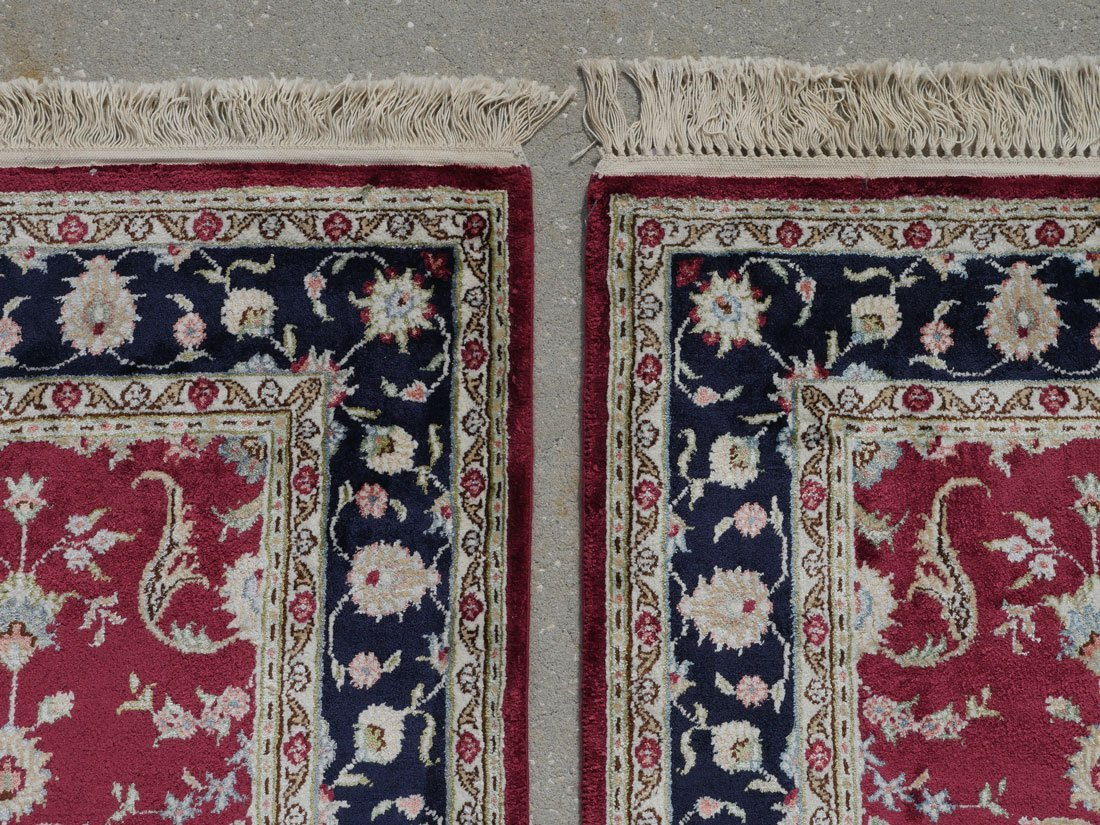 TURKISH PAIR OF HK WOOL RUGS, 3' X 5' - 3
