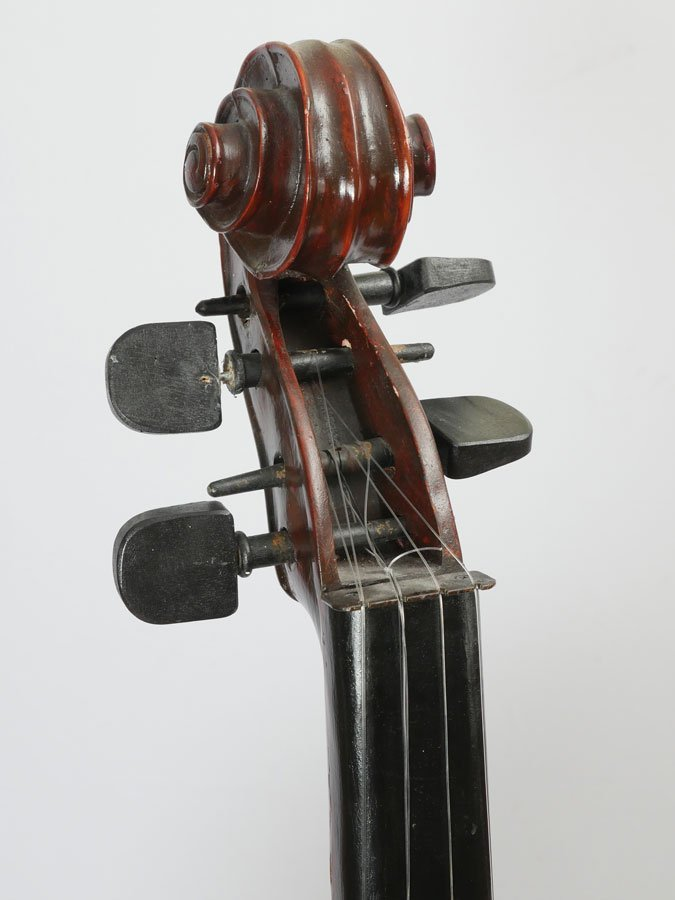 LARGE STAND UP DOUBLE BASS FORM CABINET - 3