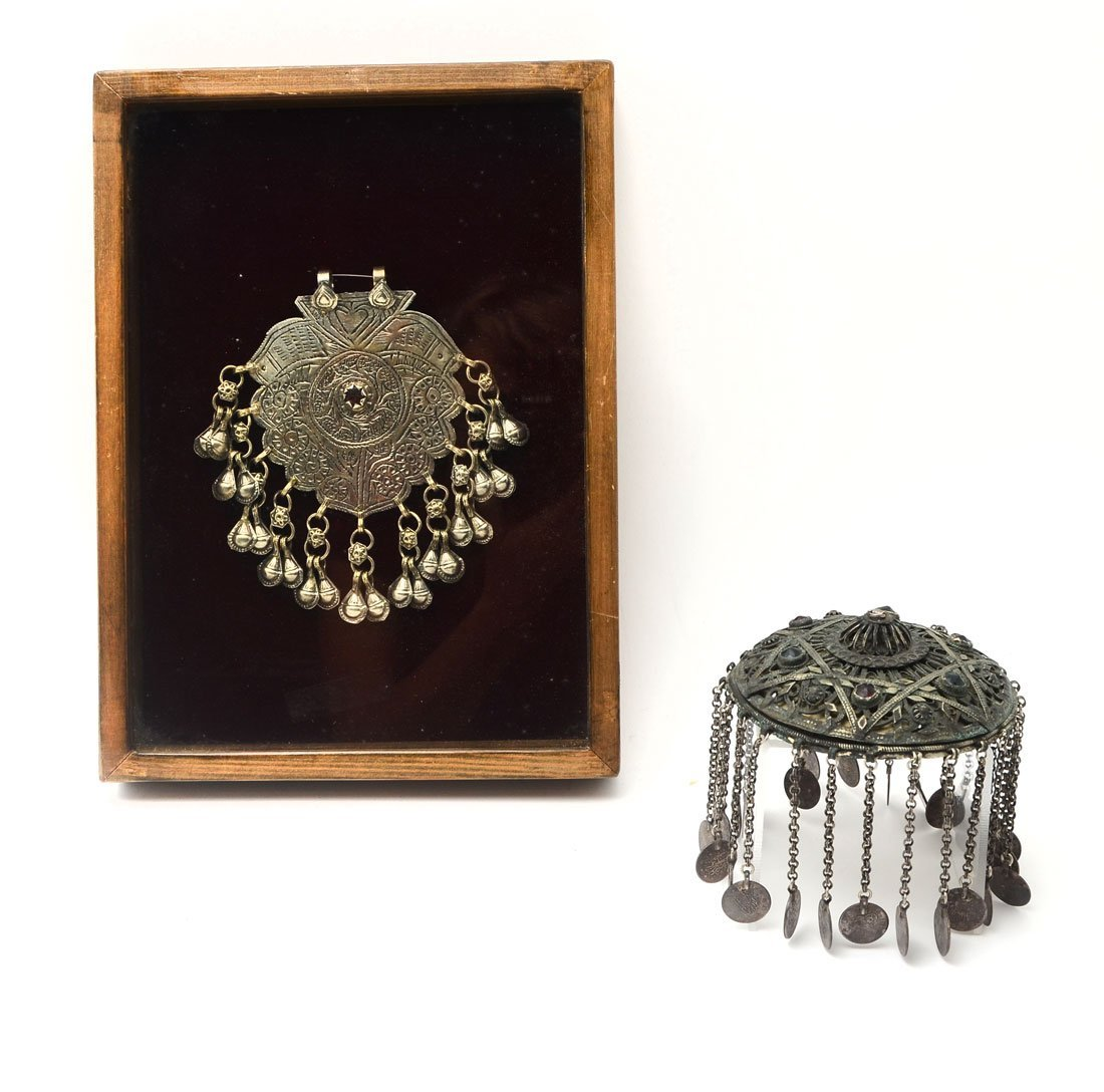 PENDANT AND FEZ TOPPER