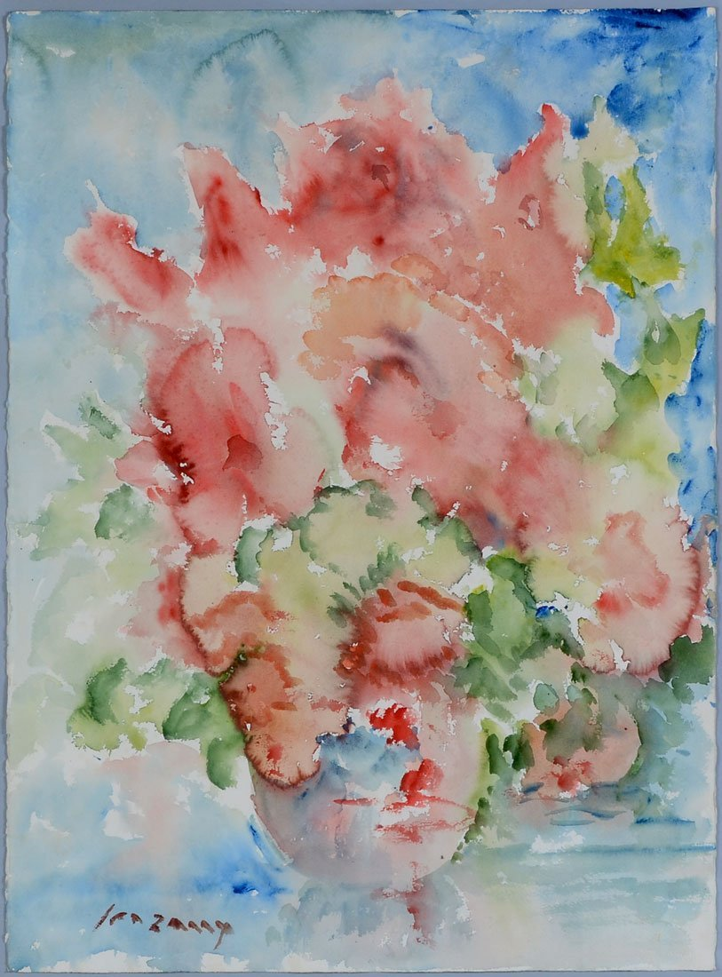 EPIFANIO IRIZARRY WATERCOLOR PAINTING