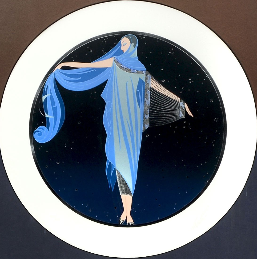 "FINE ERTE MOONLIGHT ""SERIGRAPH"""
