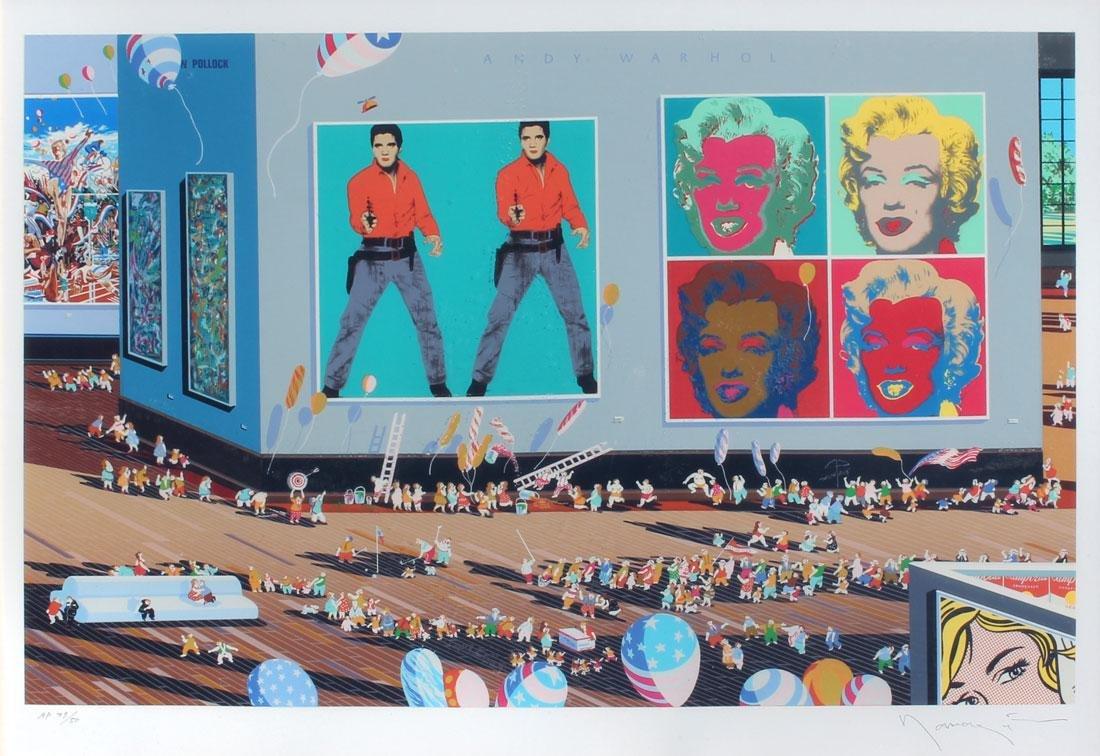 """ANDY WARHOL MUSEUM """"SERIGRAPH BY HIRO YAMAGATA"""""""