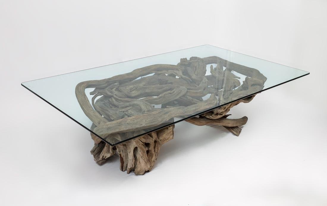 LADY BIRD JOHNSON CYPRESS ROOT COFFEE TABLE
