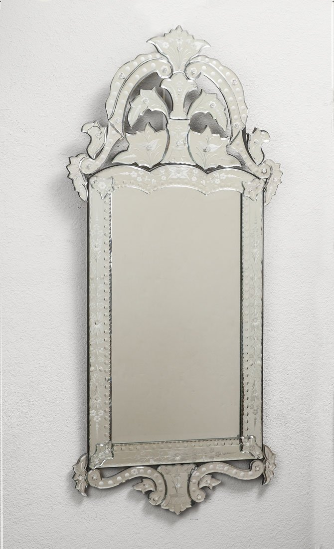ANTIQUE STYLE VENETIAN WALL MIRROR