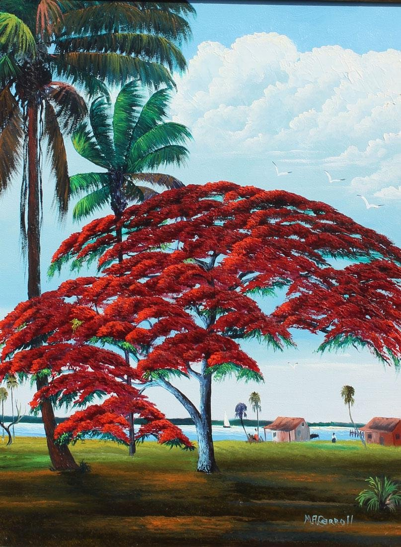 MARY ANN CARROLL FLORIDA HIGHWAYMEN PAINTING