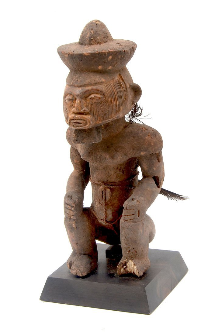 CENTRAL AFRICAN TEKE CARVED FIGURE