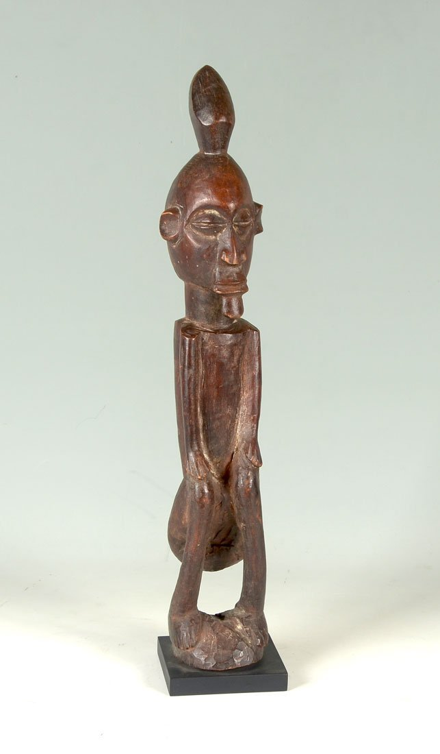 CENTRAL AFRICAN TEKE CARVED POWER FIGURE