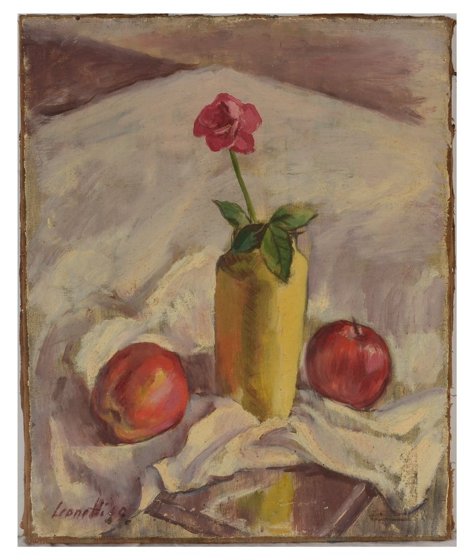 MODERNIST STILL LIFE PAINTING BY LEONETTI