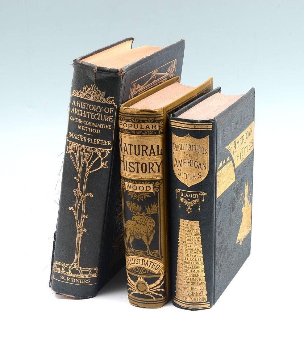 LOT OF 3 ANTIQUE BOOKS