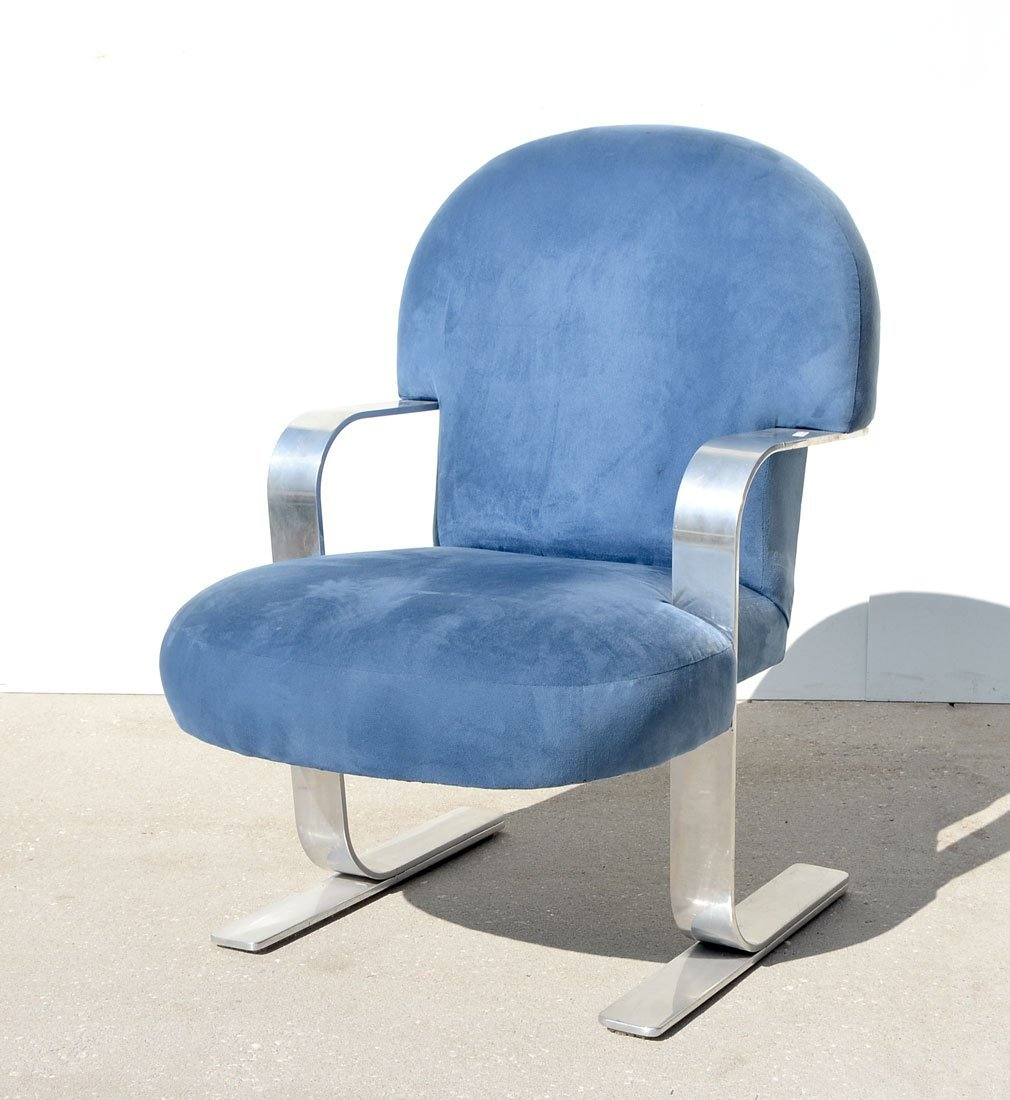 BRIAN REALE MID-CENTURY NORMANDY CHAIR