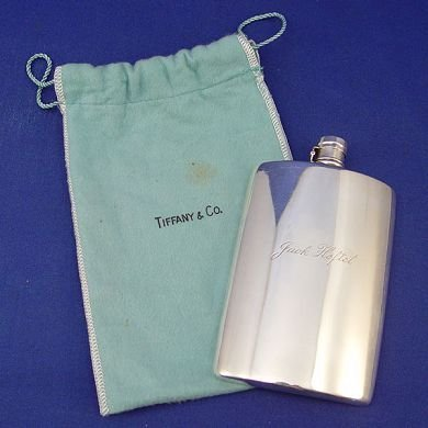 1005: TIFFANY & COMPANY STERLING SILVER FLASK