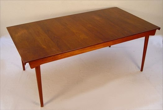 1012: FINN JUHL EXTENSION TABLE FOR FRANCE & SONS