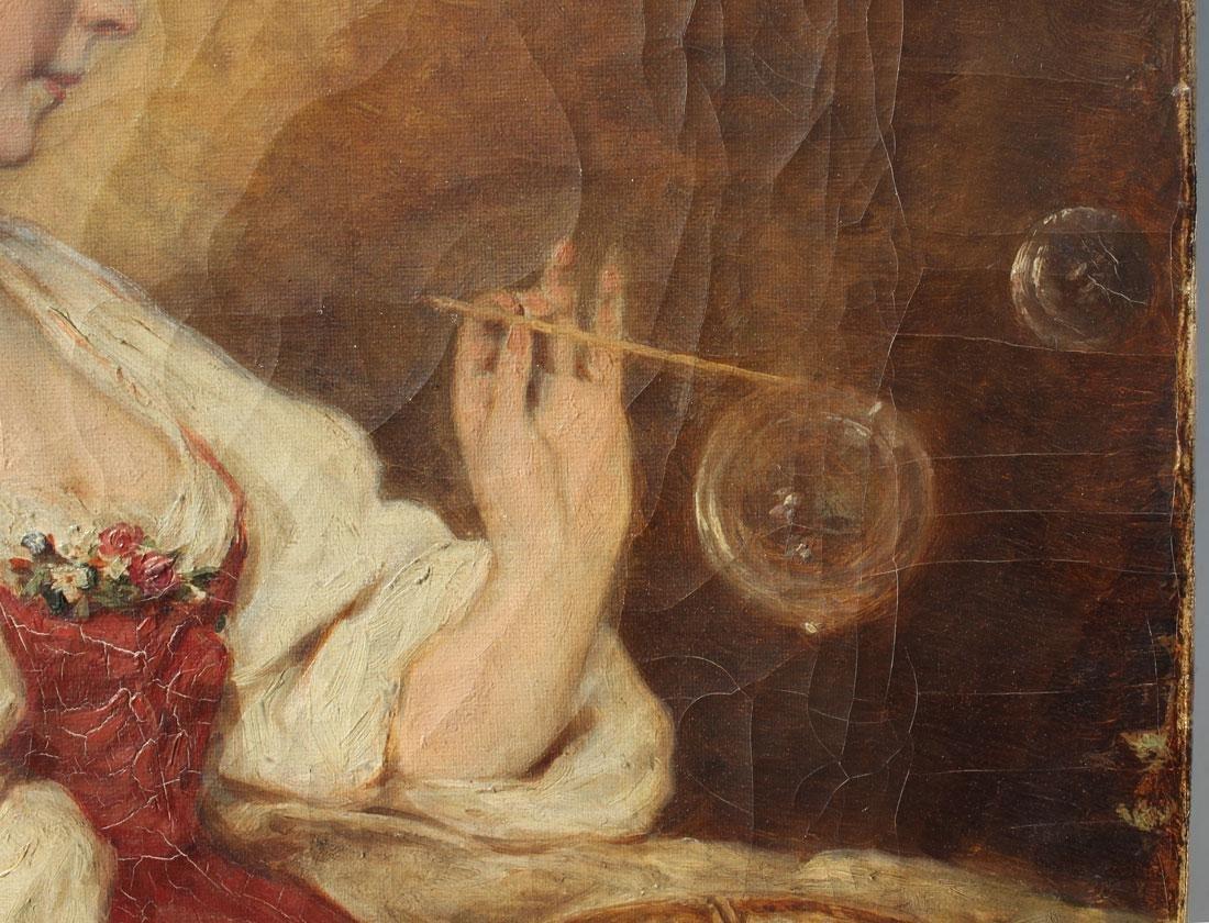 19TH CENTURY FEMALE BUBBLE BLOWER HEIMAN - 3
