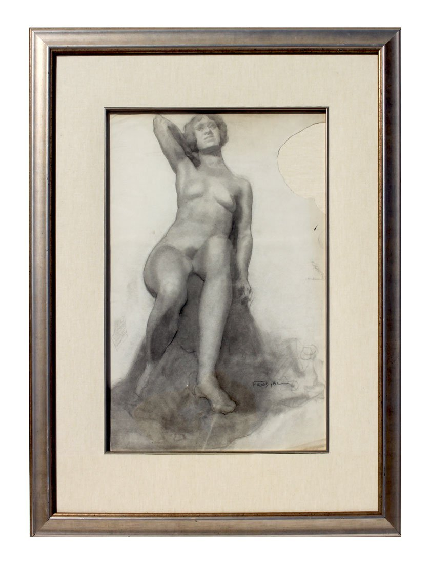 PAL FRIED FEMALE NUDE DRAWING - 2