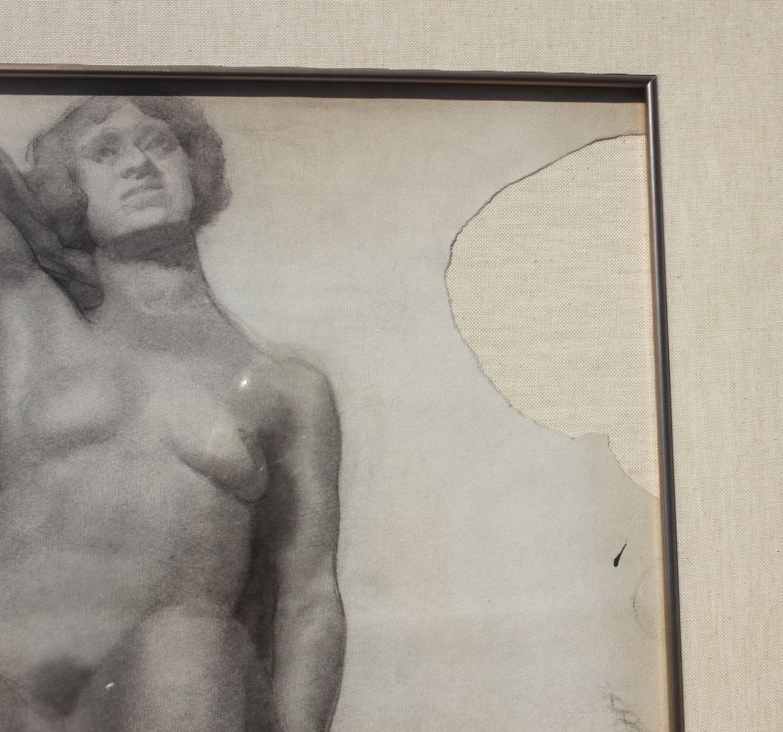 PAL FRIED FEMALE NUDE DRAWING - 4