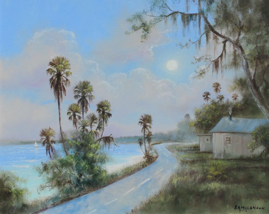 FLORIDA HIGHWAYMEN COAST RD PAINTING