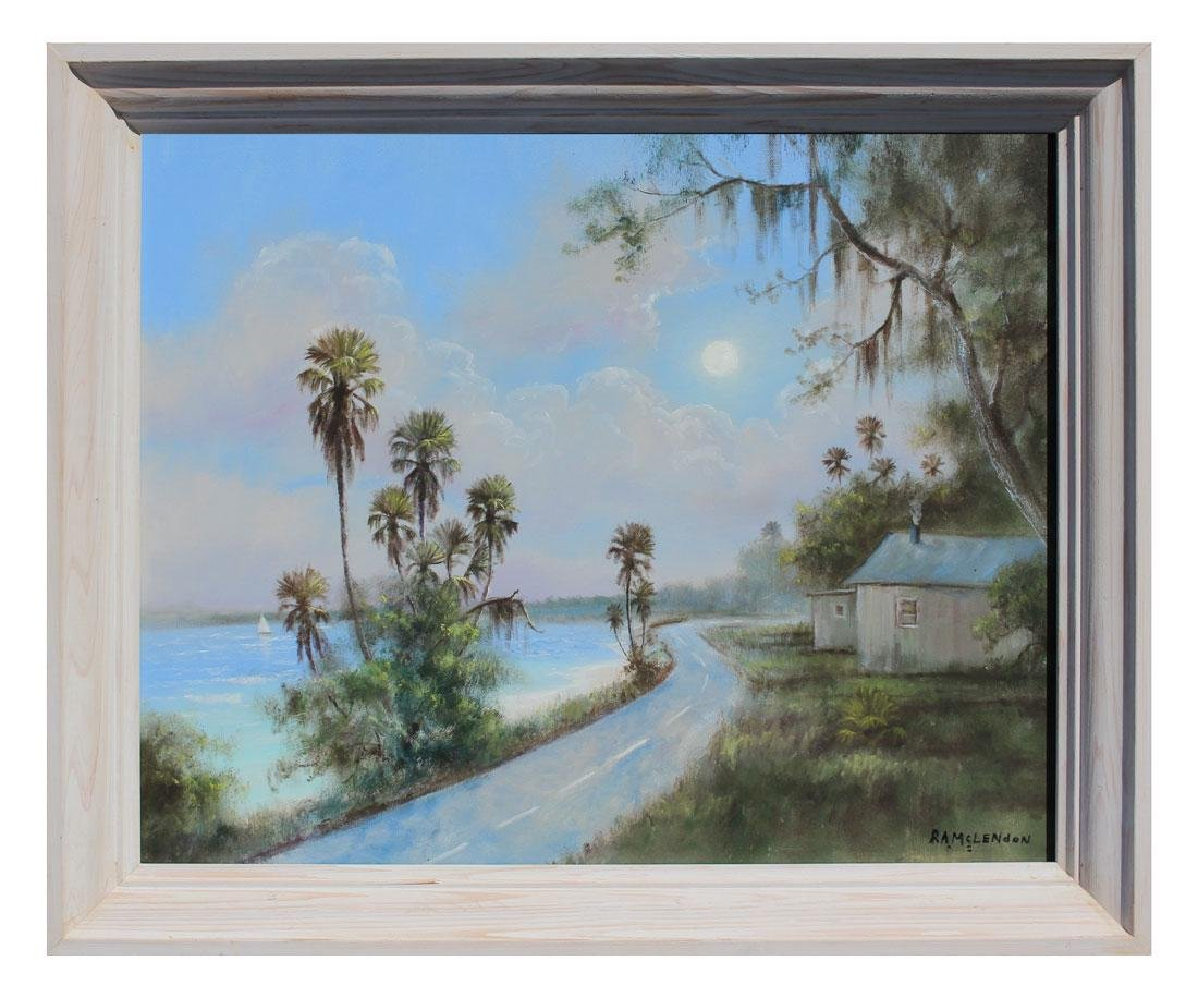 FLORIDA HIGHWAYMEN COAST RD PAINTING - 2