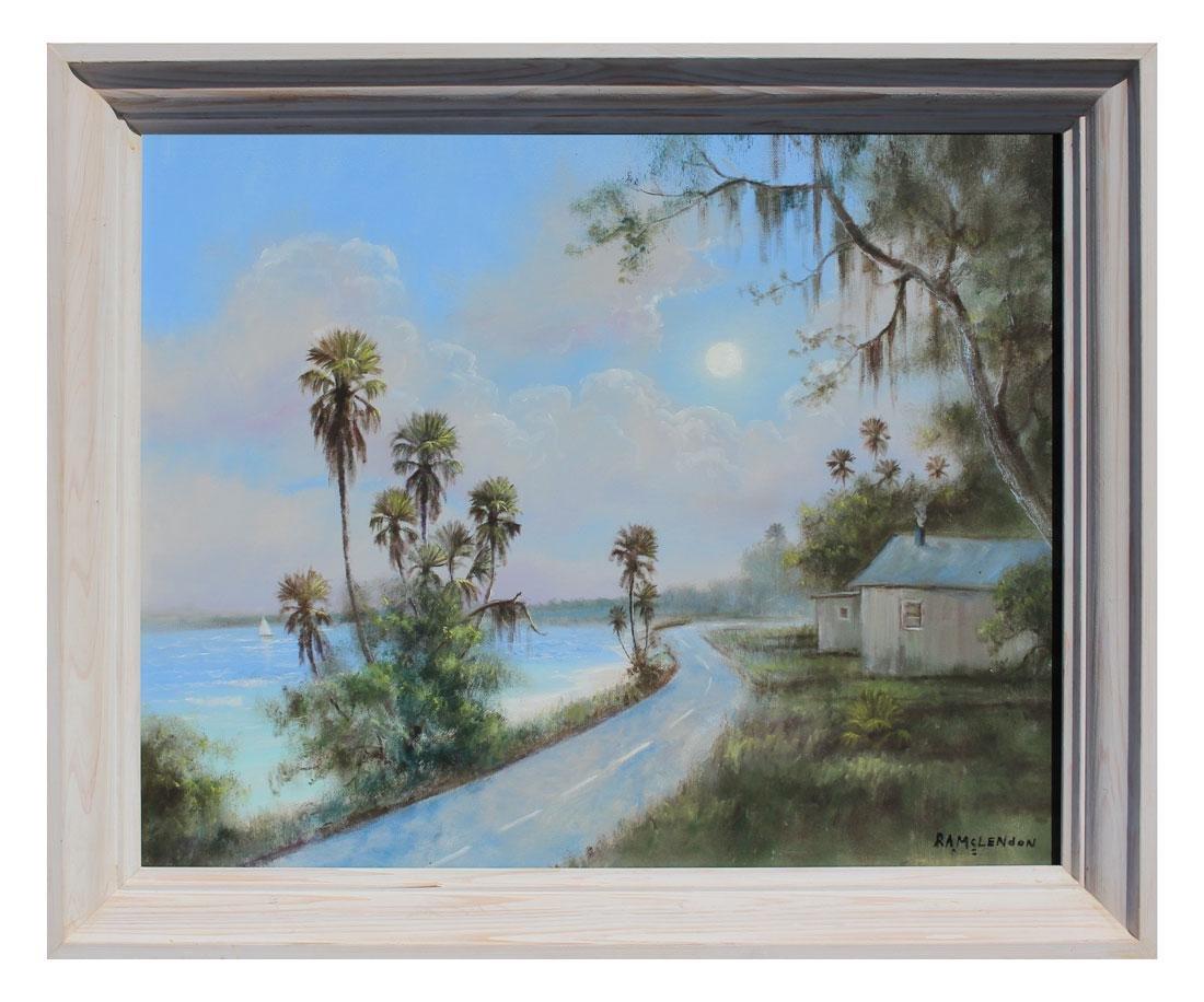 FLORIDA HIGHWAYMEN COAST RD PAINTING - 2
