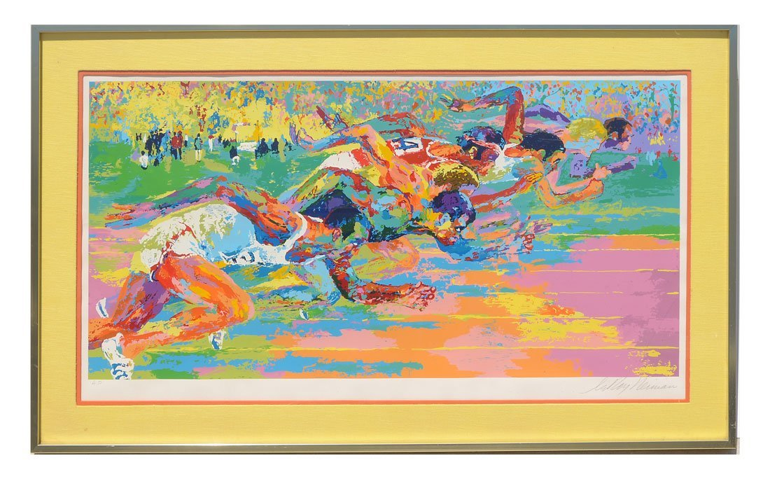 "LEROY NEIMAN ARTIST PROOF SERIGRAPH ""OLYMPIC TRACK"" - 2"