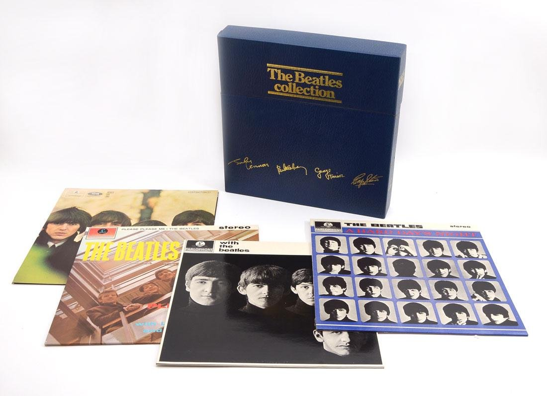 BEATLES 1978 LIMITED EDITION BLUE BOX COLLECTION