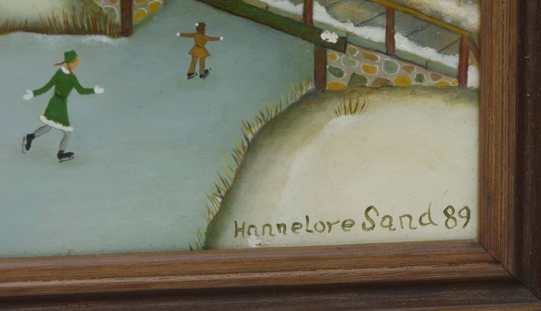 4 HANNELORE SAND PAINTINGS - 2