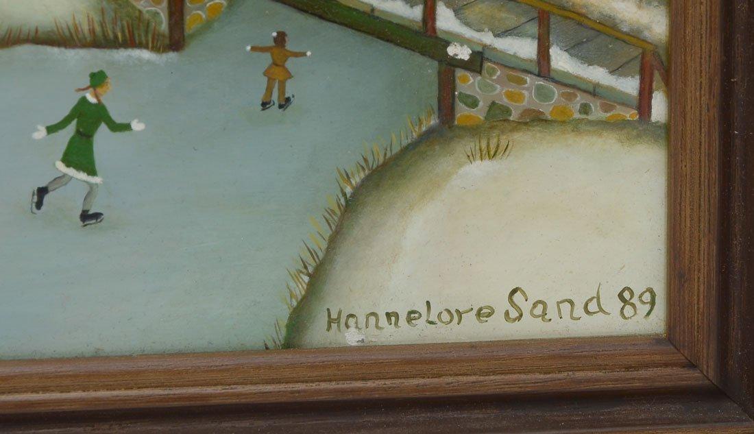 4 HANNELORE SAND PAINTINGS - 2