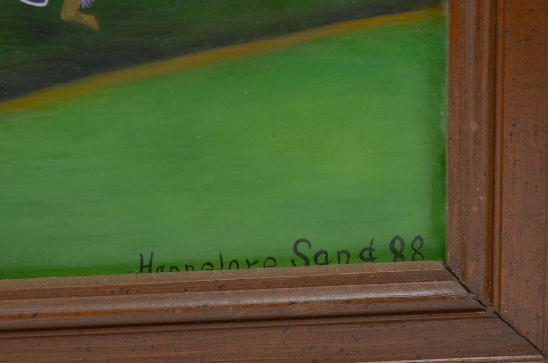 4 HANNELORE SAND PAINTINGS - 4
