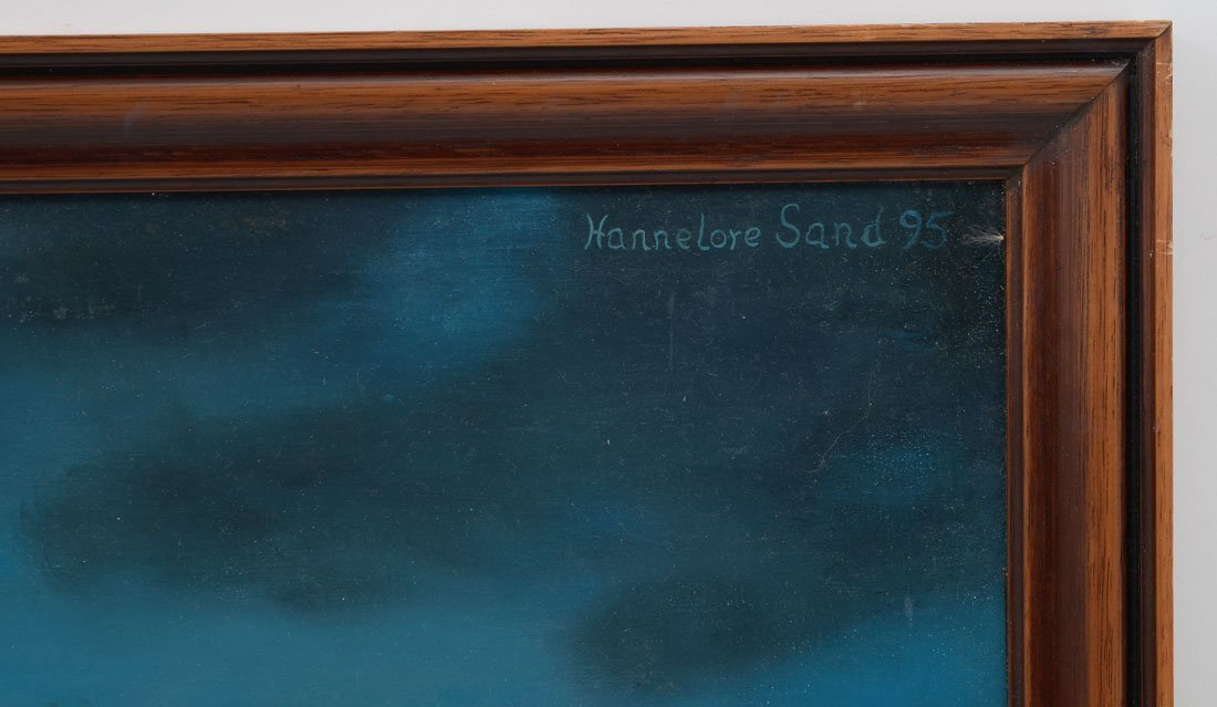 4 HANNELORE SAND PAINTINGS - 5