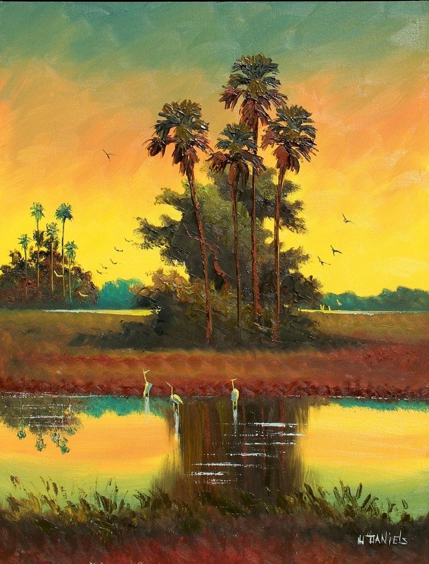 "WILLIE DANIELS FLORIDA HIGHWAYMEN ""SUNSET GLOW"""