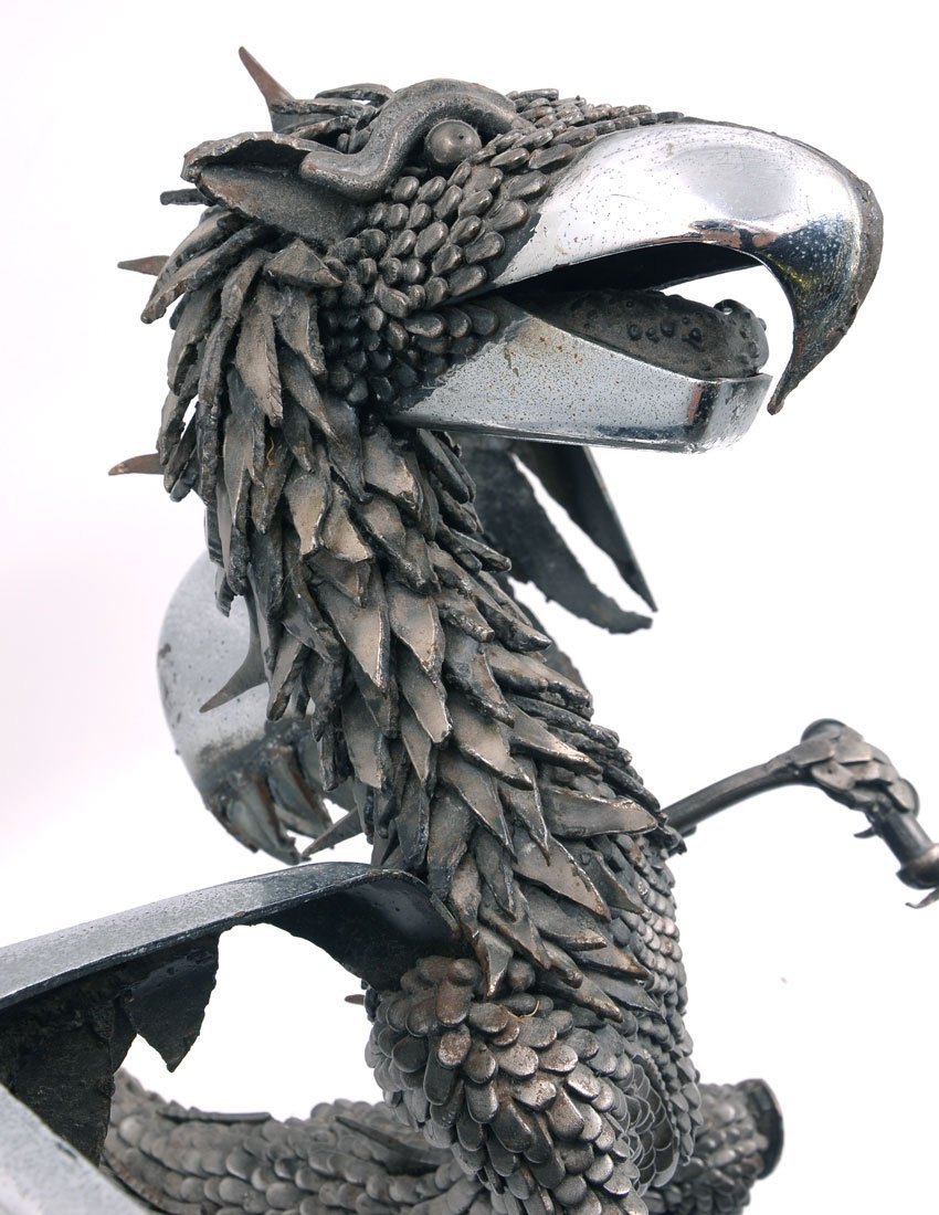 PAUL EPPLING GRIFFIN SCULPTURE - 2