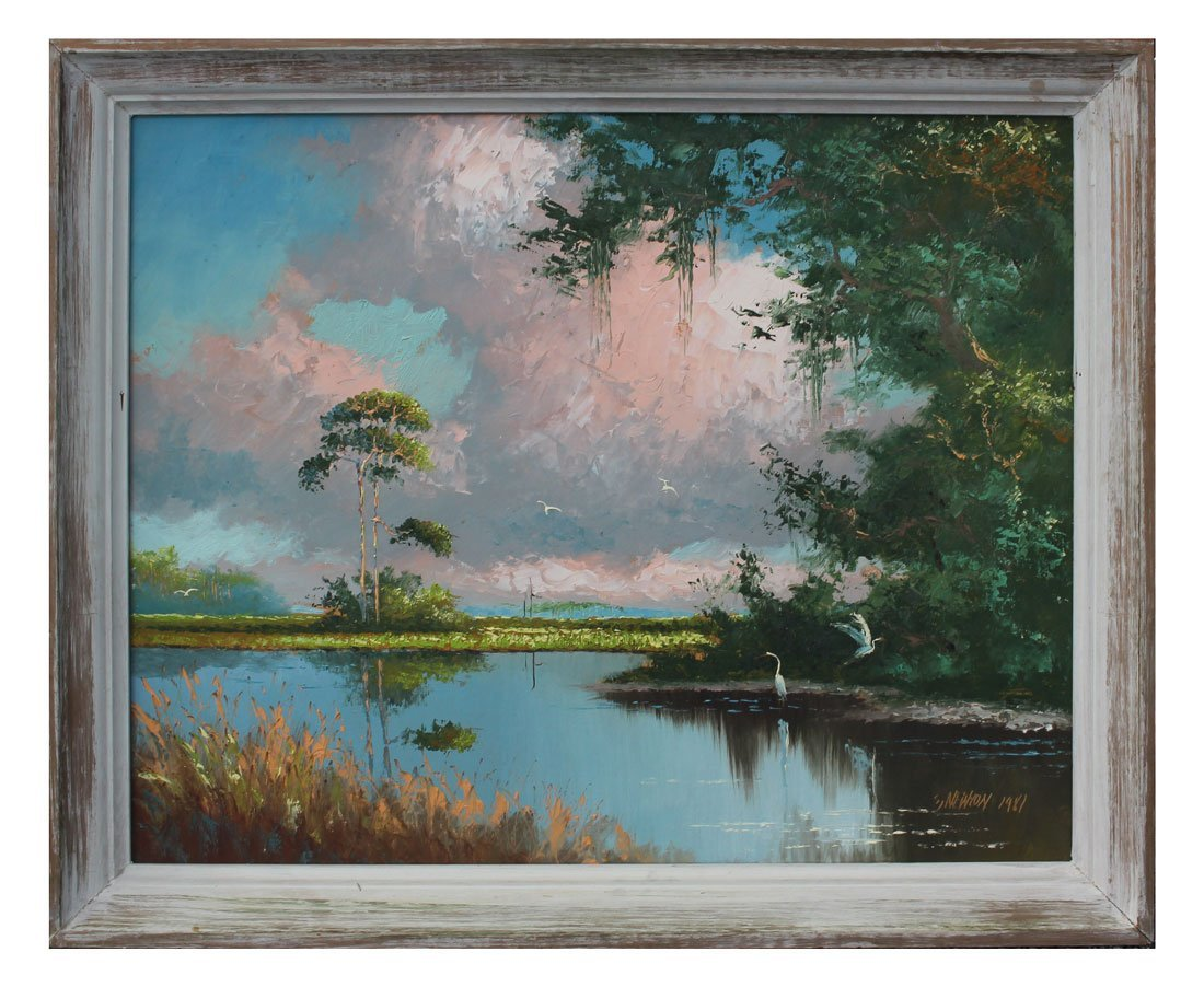 SAM NEWTON FLORIDA HIGHWAYMEN PAINTING - 2