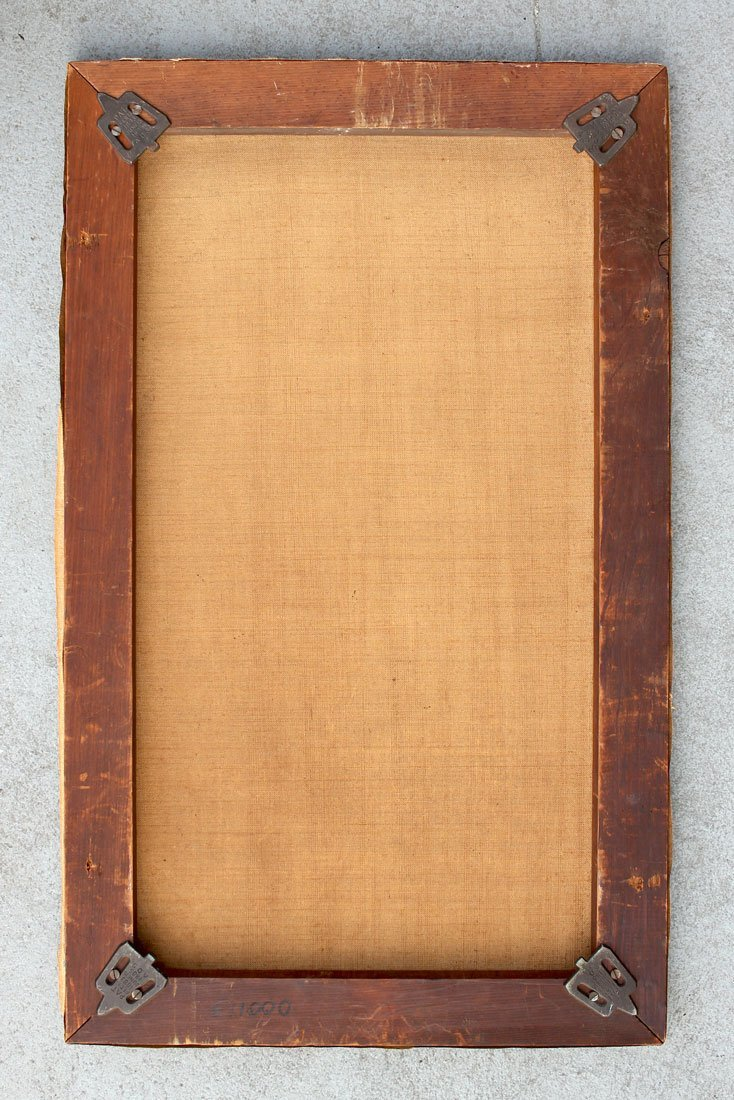 UNSIGNED PAINTING OF FLORIDA GRAPEFRUIT CIRCA 1900 - 2