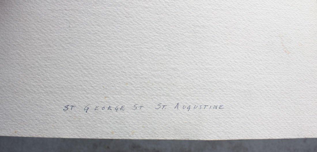 LIEBICH ST. GEORGE STREET ST. AUGUSTINE PAINTING - 3