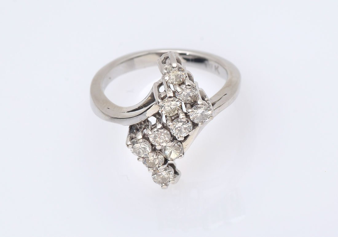 14K .85 CTW DIAMOND RING