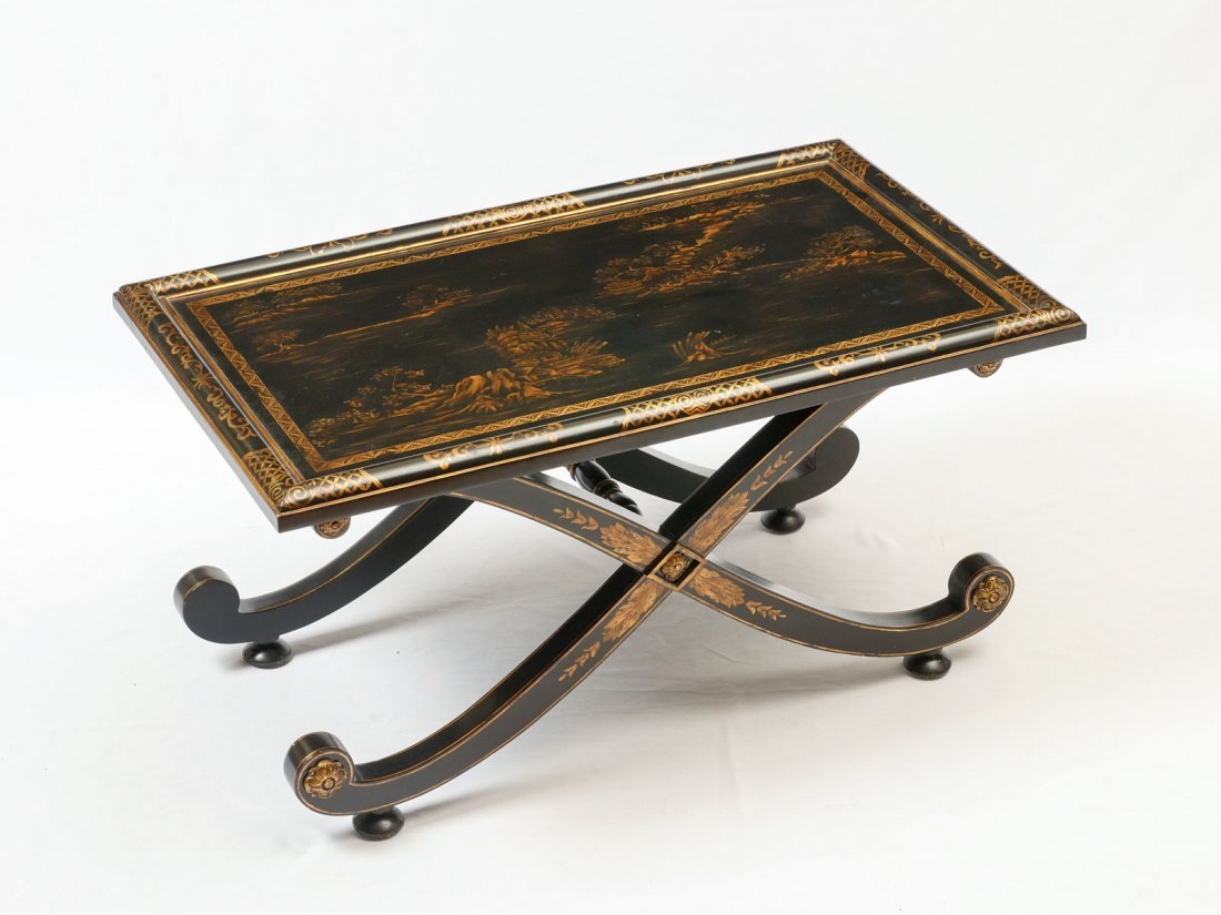 JOHN-RICHARD CHINOISERIE COFFEE TABLE