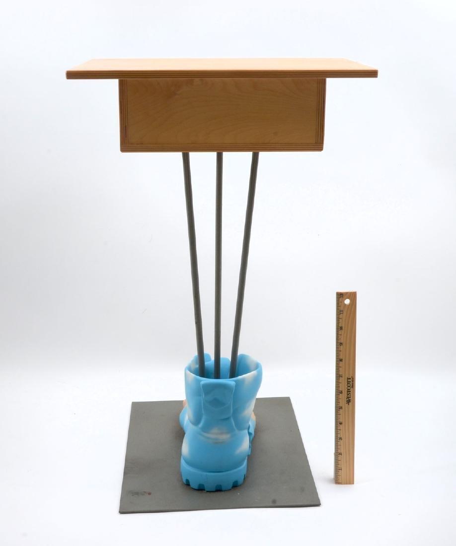 FOOT ART SIDE TABLE - 4