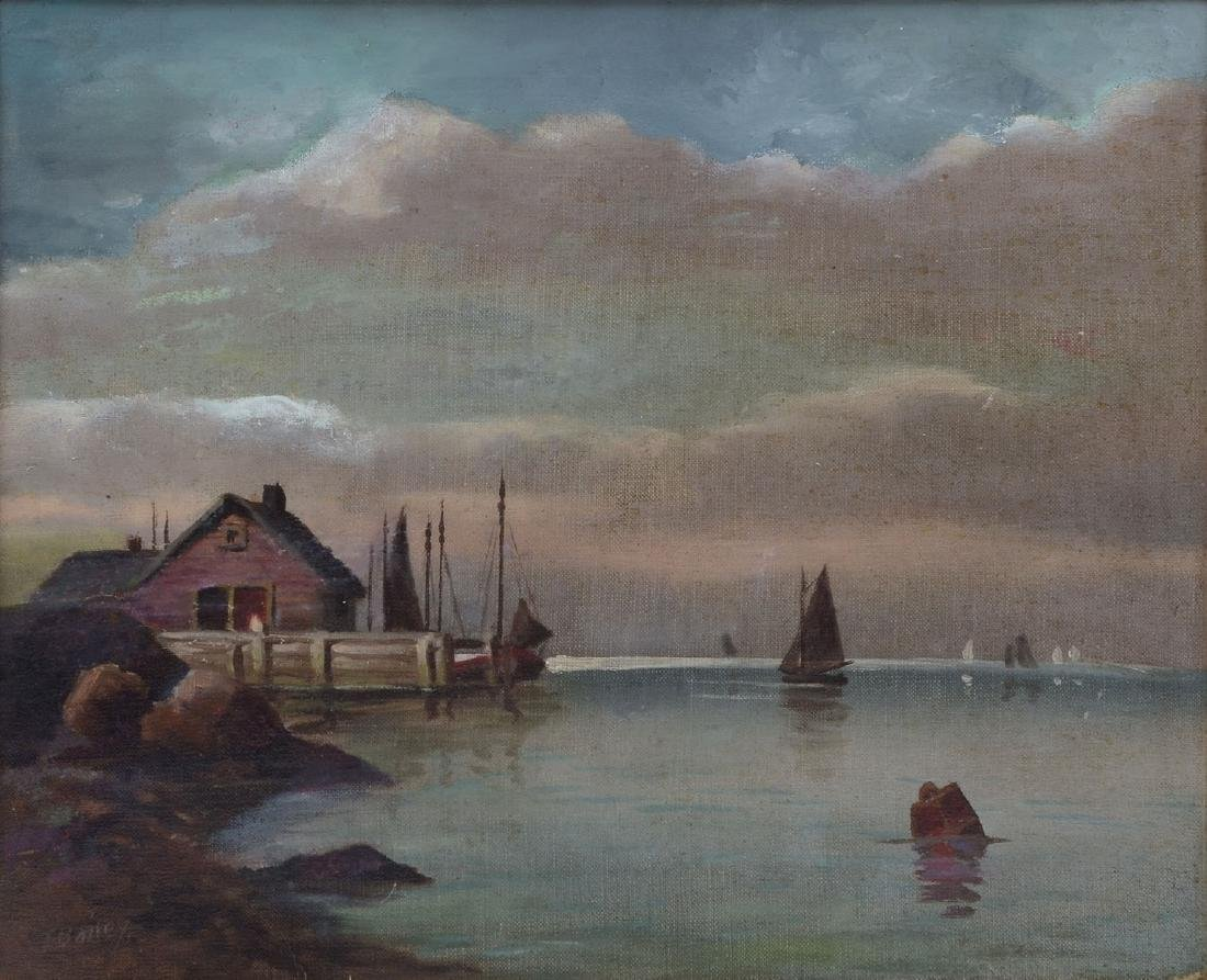 MOTIF #1 PAINTING BY T. BAILEY