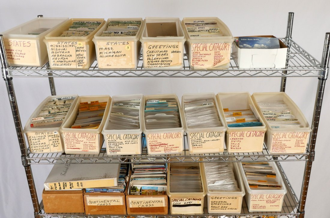 MONUMENTAL ESTATE ASSORTMENT OF COLLECTOR POSTCARDS - 2
