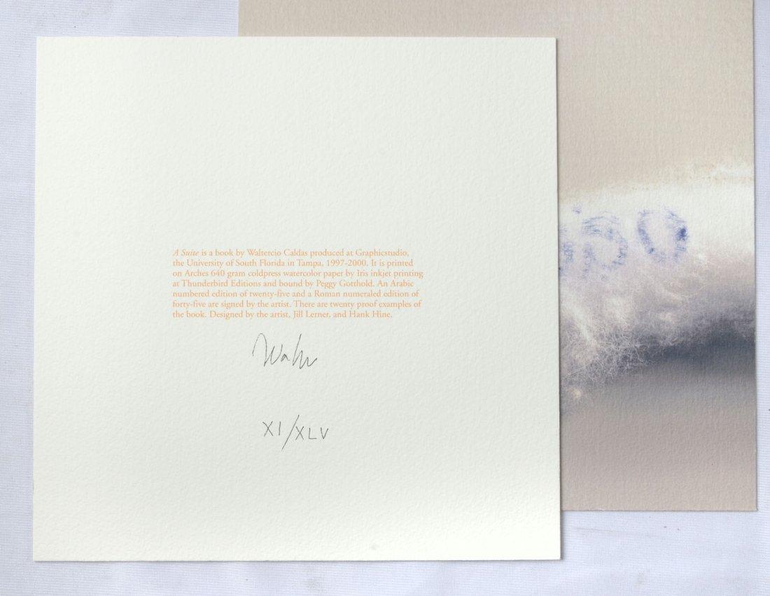 """WALTERCIO CALDAS """"A SUITE"""" USF GRAPHIC STUDIO BOOK - 3"""