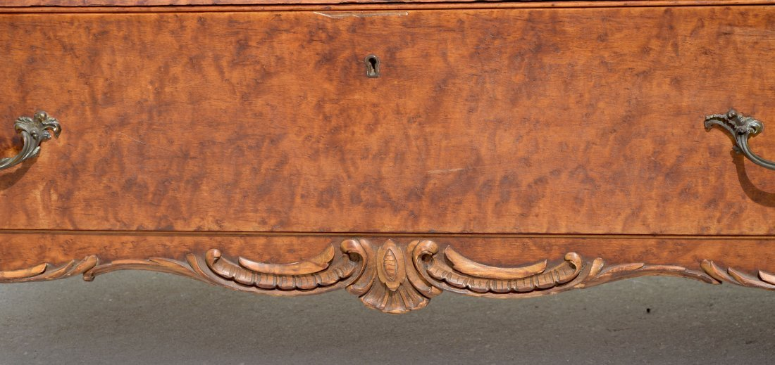 BIRDSEYE MAPLE CHEST - 3