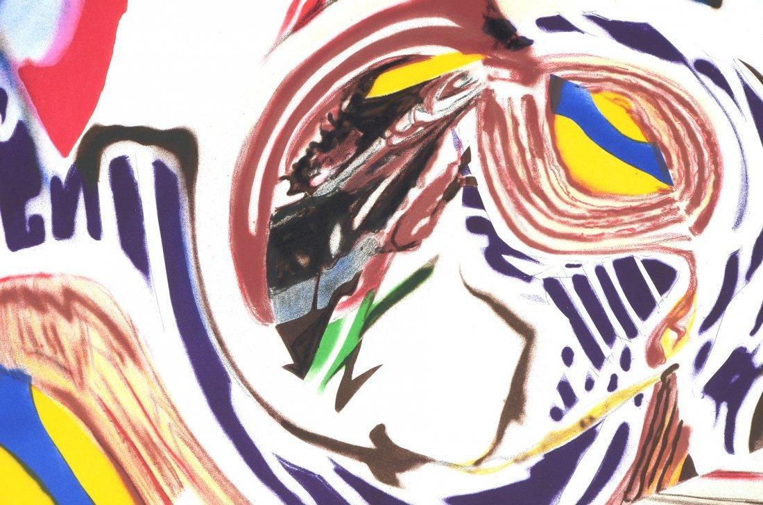 ROSENQUIST GRAPHIC STUDIO 10 COLOR LITHOGRAPH 1999 - 2