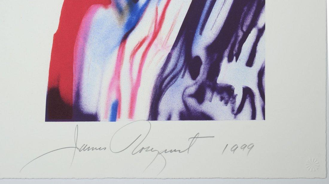 ROSENQUIST GRAPHIC STUDIO 10 COLOR LITHOGRAPH 1999 - 3