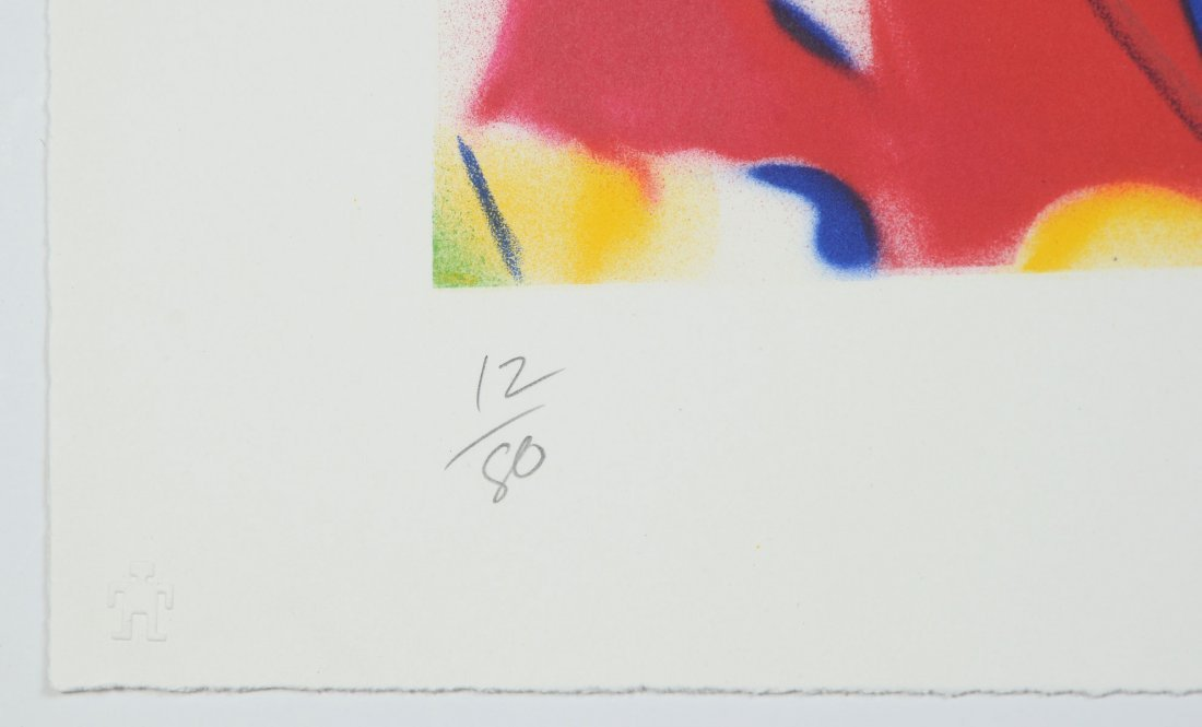 ROSENQUIST GRAPHIC STUDIO 10 COLOR LITHOGRAPH 1999 - 4
