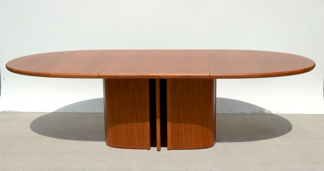 DANISH DINING TABLE & 6 CHAIRS - 2