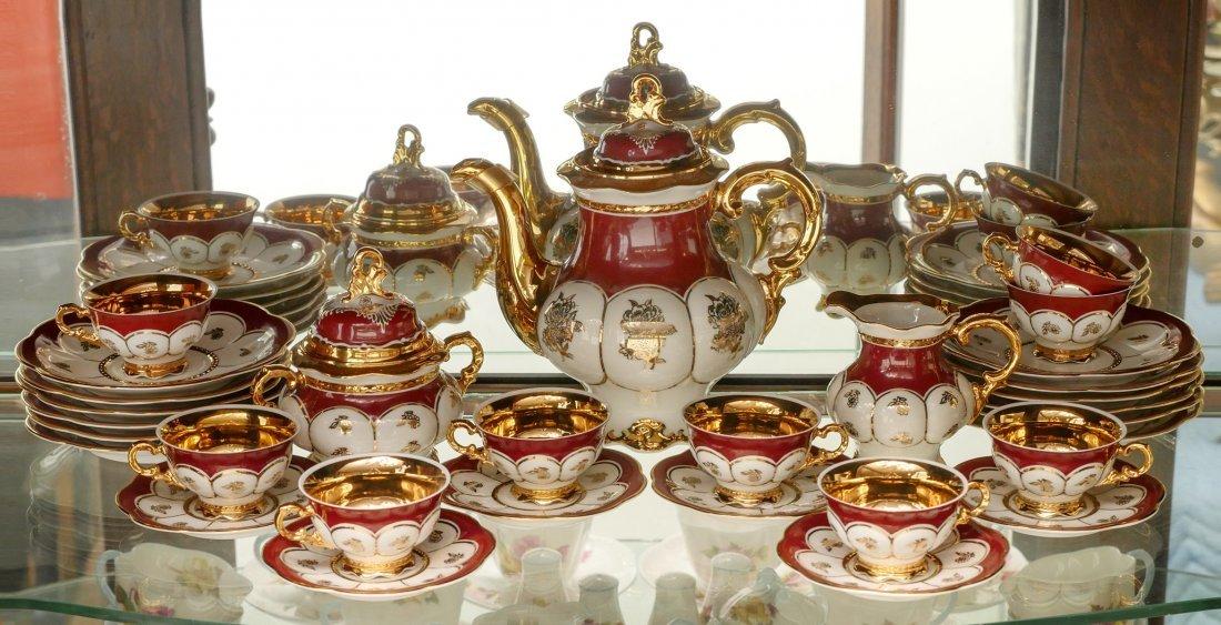 HUTSCHENREUTHER TEA SET