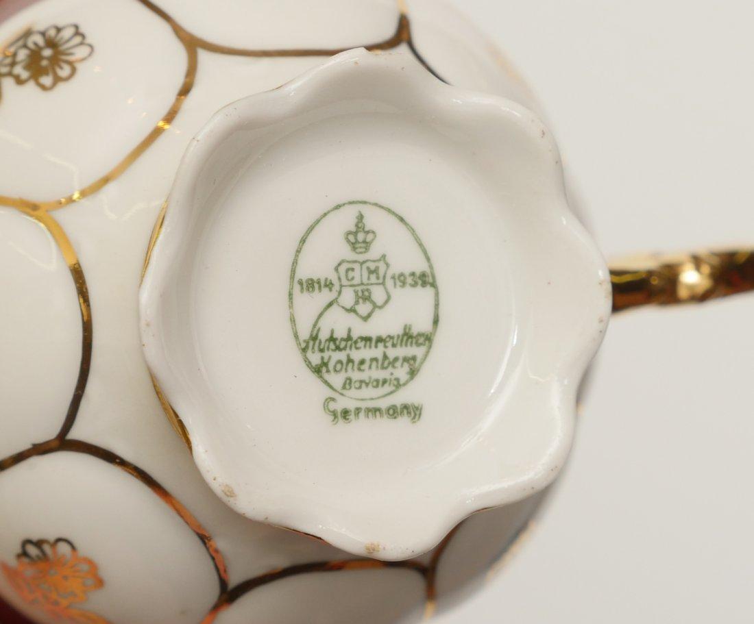 HUTSCHENREUTHER TEA SET - 2