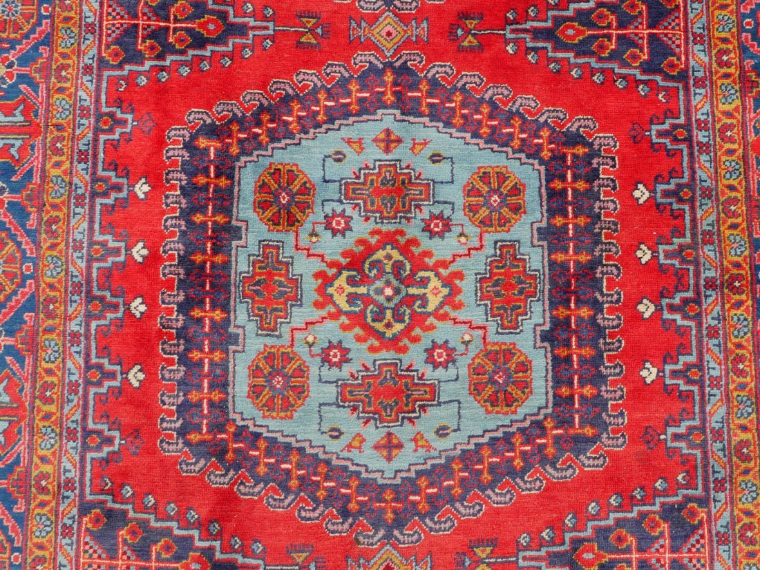 "PERSIAN HAMADAN HK WOOL VILLAGE RUG, 6'9"" X 11'6"" - 2"