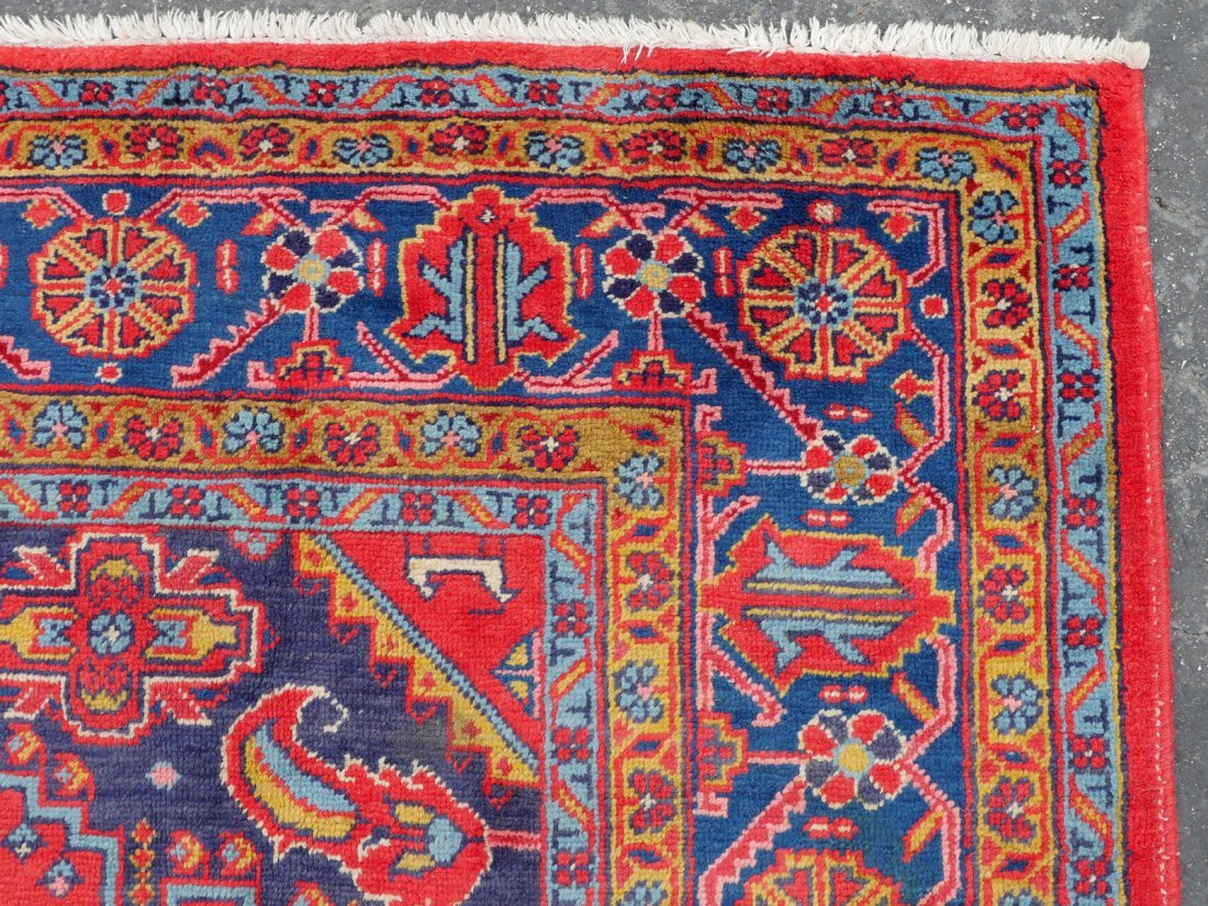 "PERSIAN HAMADAN HK WOOL VILLAGE RUG, 6'9"" X 11'6"" - 3"