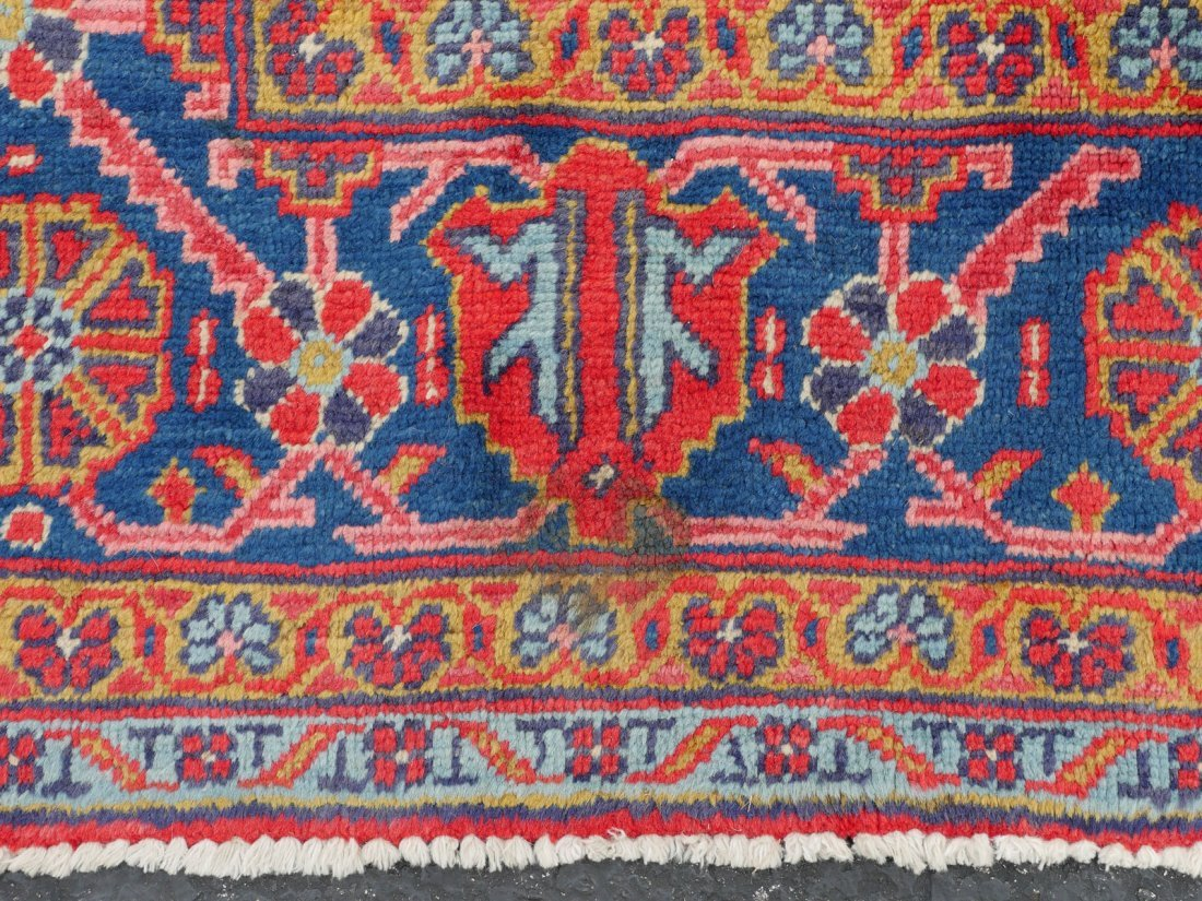 "PERSIAN HAMADAN HK WOOL VILLAGE RUG, 6'9"" X 11'6"" - 5"
